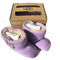 Kids Ugg Boots Girls Size 2/3 Lavender Purple Brand New Never Used  Photo
