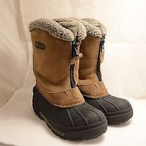 Kids Unisex Columbia Size 2 Snow Boots Photo