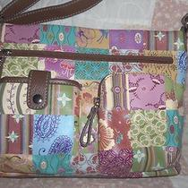 Kim Rogers Patchwork Vinyl Shoulder Bag- New Without Tag Photo