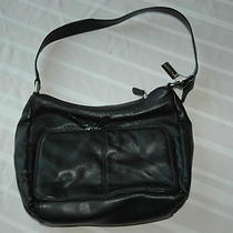 Kim Rogers Womens Black Hobo Bag Handbag Purse Photo