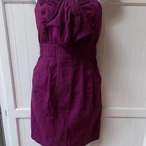 Kimchi Blue Urban Outfitters Purple Corset Ruched Strapless Stretch Mini Dress M Photo