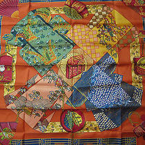 Kimonos Et Inros Hermes Scarf  (New-Tags) Photo