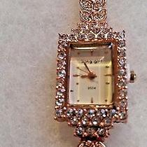 King Girl Rose Gold Bracelet Watch New Without Tags  Photo