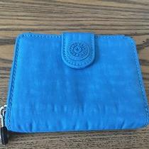 Kipling Blue Trifold Wallet  Photo