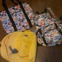 Kipling Book Bag and Le Sportsac Bags Photo