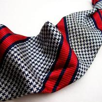 Kipper/hudsons  Super Vtg Red/blue Special Tie Necktie11-3 Gp Photo