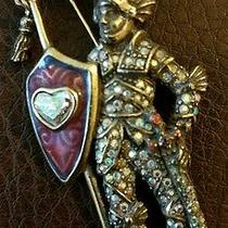 Kirks Folly Lancelot Knight in Shining Armor Broach Jewelry Photo