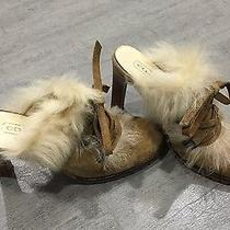Kirsty Coach Fur Slip-on Boots  Size 5.5 Photo