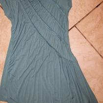 Kische Teal Drape Top Size L Aqua Teal Gorgeous Photo