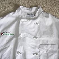 Kitchen Basix by Pinnacle Men's Xl Chef Shirts Lot of 4  Photo