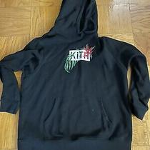Kith in Bloom Box Logo Hoodie Black Size Xxl 2xl Photo