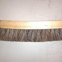 Kiwi Shoe Shine Brush Honor Guard Military First Quality Big Wood 100% Horsehair Photo