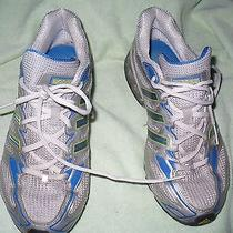 Kk Adidas Boost Silver and Blue Athletic Mens 8.5 M Photo