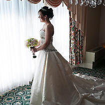 Kleinfeld Bridal Amsale-Kenneth Pool Wedding Dress - Stylearia  Size12  Photo