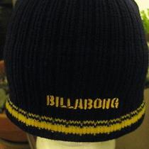 Knit Cap Hat Beanie Billabong Knit Cap Tossel Cap Beanie Pom Pom Winter Hat Photo