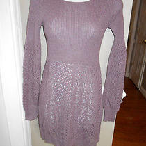 Knitted & Knotted / Anthropologiewomens Xssoft Alpaca Knit Sweater Dress  Photo