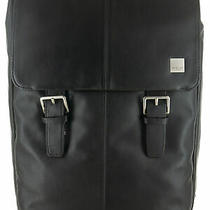 Knomo Brompton Classic Collection Hudson Flap Backpack Black Photo