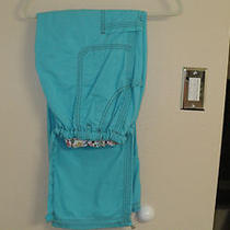 Koi Lindsey Cargo Scrub Pant Xl Mint Conditon-Must See  Gently Worn. Aqua Photo