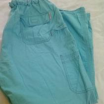 Koi Lindsey Scrub Pants Sz 2x 2xl Aqua Photo
