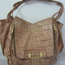 Kooba Zoey Hobo Bag Shoulder Bag Purse Handbag Crocco Embossed Leather Photo