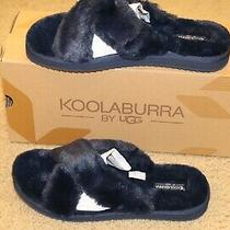 Koolaburra by Ugg Ballia Faux Fur Slide Slippers  Size 10 New in Box Photo