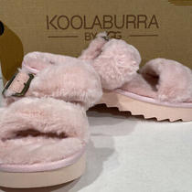 Koolaburra by Ugg Fuzzy Furr-Ah Womens Size 8 Pale Blush Pink Slippers X5-1622 Photo