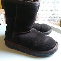 Koolaburra by Ugg Girls' Koola Short Boot Fashion Black Size 10 Us Toddler Photo