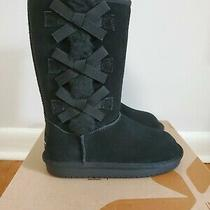 Koolaburra by Ugg Girls Toddler Victoria  Boots Size 13 Color Black  Photo