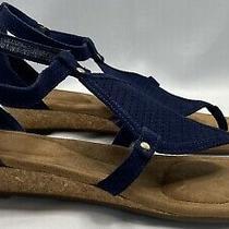 Koolaburra by Ugg Women's Briona Wedge Sandal Colorinsignia Blue Size Us 9 New Photo