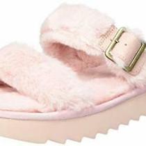 Koolaburra by Ugg Women's Furr-Ah Sandal Pale Blush Size 9 Photo