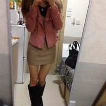 Korean Style Lamb Leather Jacket - Made in Italy Lamb Leather  Photo