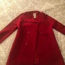 Kosuke Tsumura Red Wool Winter Jacket Rare Collectible Size 4 Photo