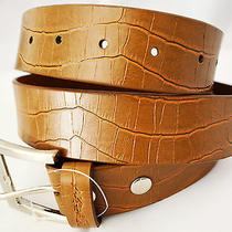 Kr3w Men Belt Name Croc Belt 45 Length  Photo