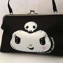 Kuromi Pattern Clasp Small Purse Handbag Clutch  Hk Limited Edition Photo