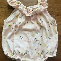 Kyle and Deena Infant Romper Blush Pink Soze 3-6 Months Photo