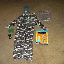 L 10-12 Boys Army Commando Costume Nwt Contains 5 Pieces Be Ready for Next Year Photo