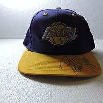 L.a. Lakers Collector Baseball Cap Autographed by Robert Horry One Size Fits All Photo