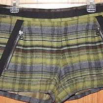 l.a.m.b. Plaid Shorts Woodbine/black  Photo