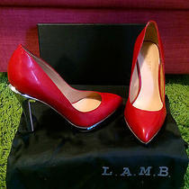l.a.m.b Red Pumps 6.5 Photo