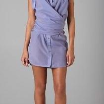 l.a.m.b. Wrap Button Down Shirtdress Size 0 Photo