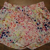 l'amour by Nanette Lepore Paint Splattered Print Shorts-Euc-Xl Photo