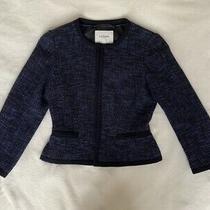 L.k. Bennett Blue Jacket. Size Uk 8. Very Good Condition Photo