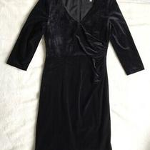 L.k. Bennett 'Dr Laurel' Black Dress. Size Uk 12. Excellent Condition. Photo