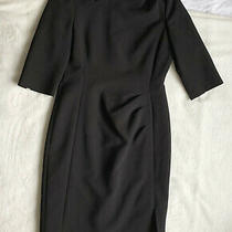 L.k. Bennett 'Dr Mariana' Black Dress. Size Uk 12. Excellent Condition. Photo