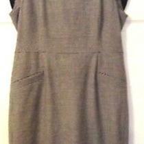 l.k.bennett Dress-Black/cream- Size 14 Uk Photo