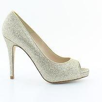 l.k.bennett New Nina Gold Womens Shoes Size 8 M Heels Msrp 475 Photo
