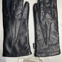Lk Brand New Hestra Hairsheep Lamb Leather/wool Mens Gloves Handsewn - Size 9 Photo