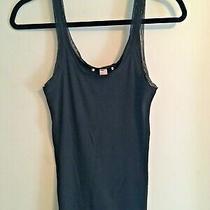L/regular Black Victoria's Secret Pajama Set -Cami Top With Pant  Photo