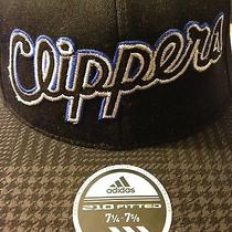 La Clippers 210 Fitted Hat Adidas by Flexfit Size 7-1/4 to 7-5/8 Limited Edition Photo