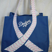 La Dodger's Mother's Day Giveaway Bag Cancer Awareness New 2013 Sga Photo